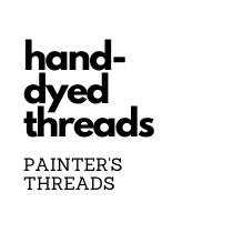 Hand-Dyed Threads and Fibers (Painter's Threads)